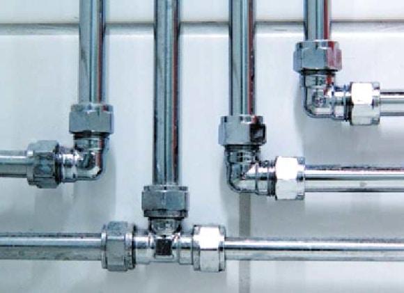 Металлические трубы отопление